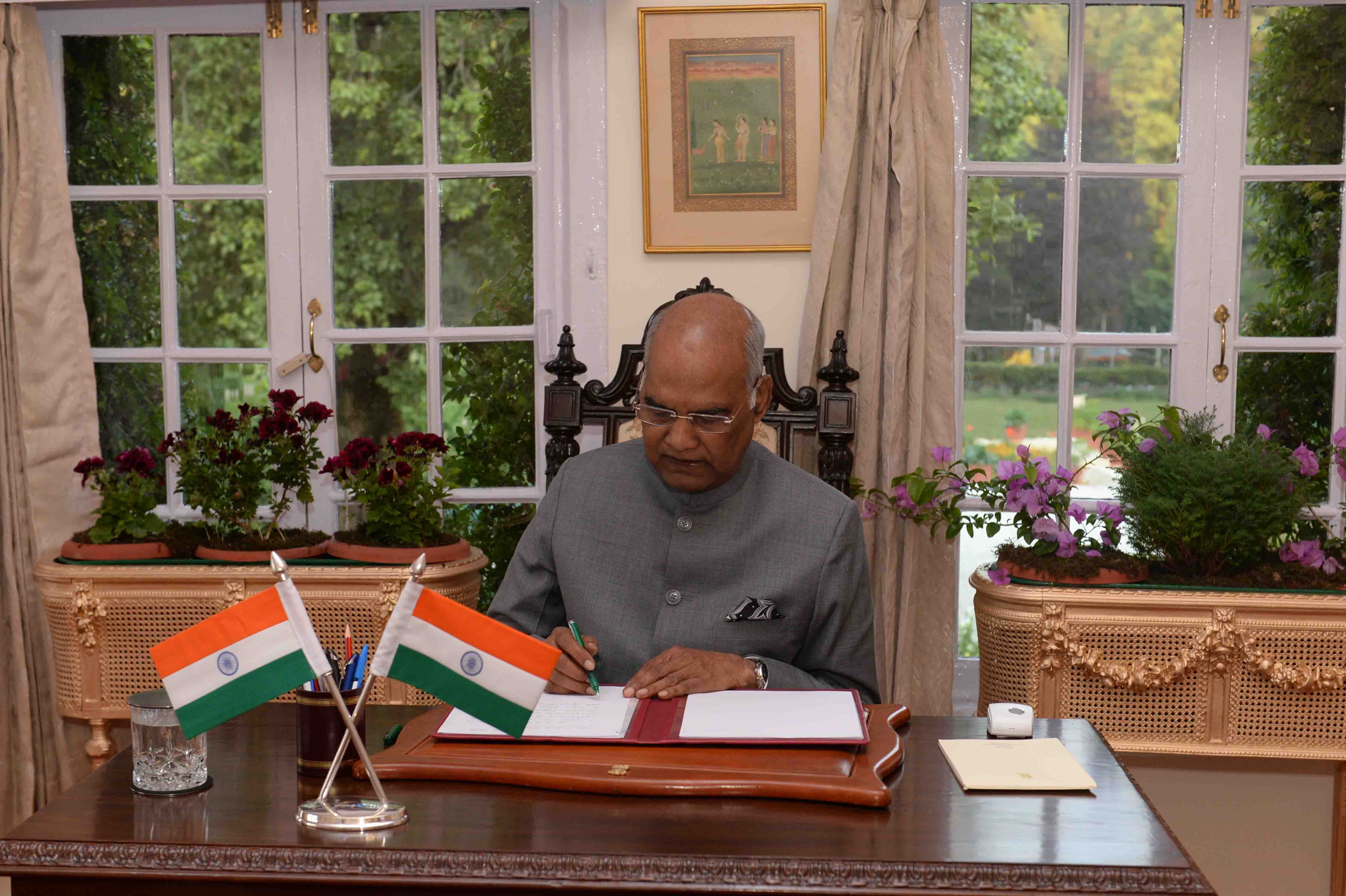 The President of India - Shri Ram Nath Kovind