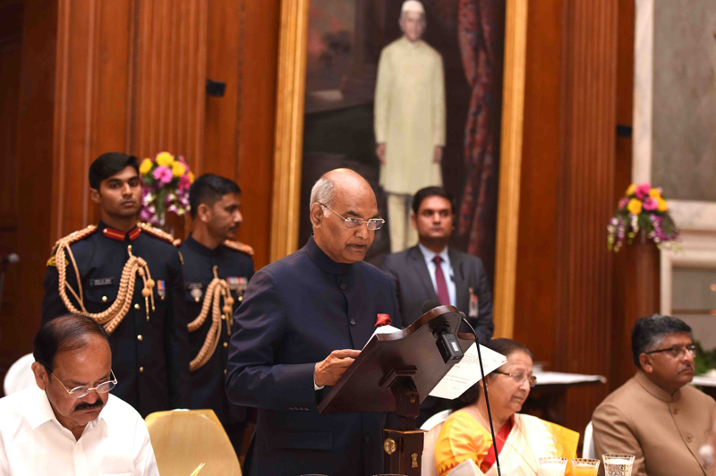 SPEECH BY THE PRESIDENT OF INDIA, SHRI RAM NATH KOVIND AT THE BANQUET HOSTED IN