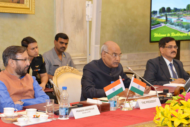 ADDRESS BY THE PRESIDENT OF INDIA, SHRI RAM NATH KOVIND AT THE MEETING OF DIRECT