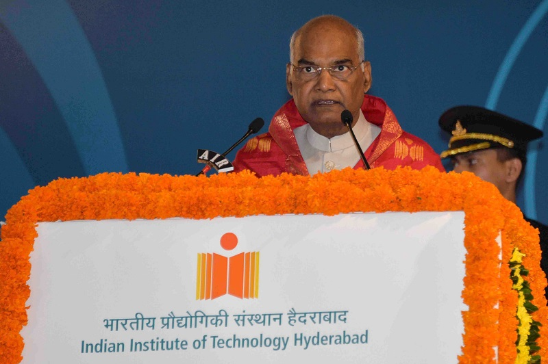 ADDRESS BY THE PRESIDENT OF INDIA, SHRI RAM NATH KOVIND AT THE 7TH CONVOCATION O