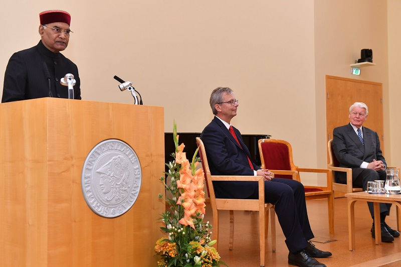 ADDRESS BY THE PRESIDENT OF INDIA, SHRI RAM NATH KOVIND AT THE UNIVERSITY OF ICE