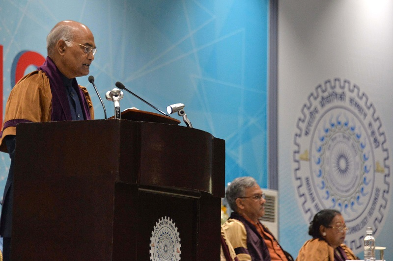 ADDRESS BY THE PRESIDENT OF INDIA, SHRI RAM NATH KOVIND AT THE ANNUAL CONVOCATIO