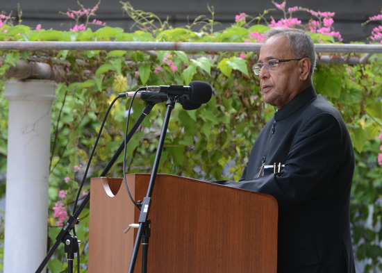 Speech by The President of India, Shri Pranab Mukherjee on the occasion of addre